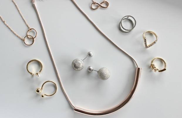 melbourne fashion haul jewellery haul necklace rings earrings