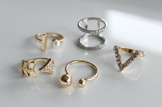 melbourne fashion haul lovisa jewellery rings