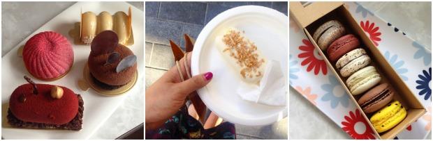 miann desserts food gateaux macarons gelato