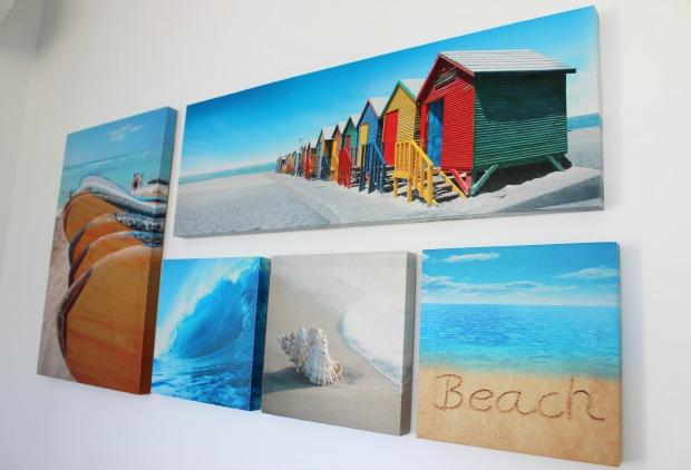 wall prints are home decor beach