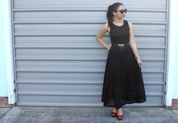x-plain dress ootd outfit heels