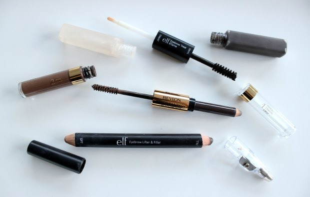 brows eyebrows revlon elf cosmetics makeup