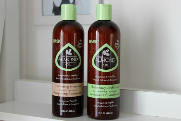 hask almond oil shampoo conditioner