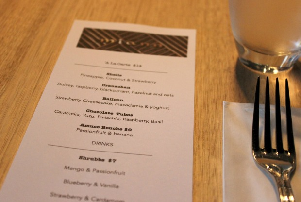 miann menu auckland