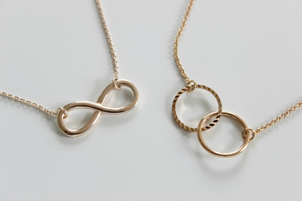 necklace haul gold jewellery infinity