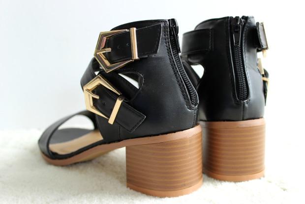 numberone shoes haul heel sandals