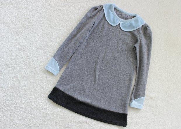 opshop thrift haul collar dress