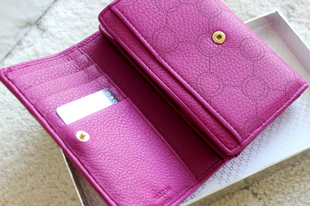 oroton wallet berry venice high fold