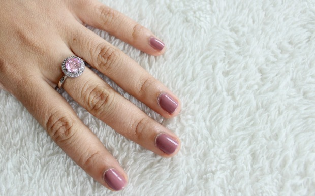 pink ring jewellery haul nails notd