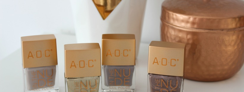 aoc in the nude nail polish set kmart