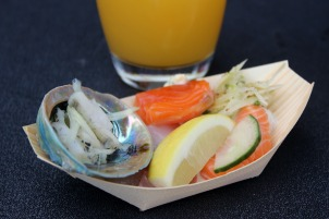 auckland seafood festival salmon oysters