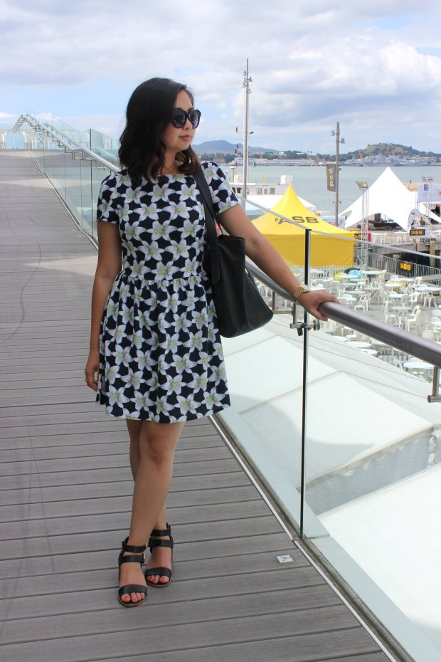 auckland seafood festival outfit ootd dress