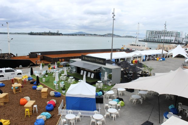 auckland seafood festival view