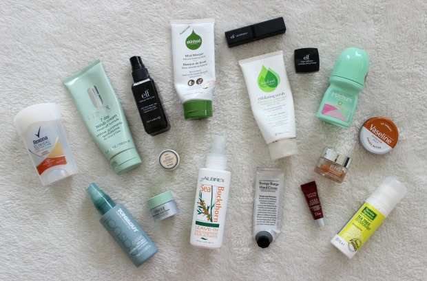 beauty empties cosmetics skincare