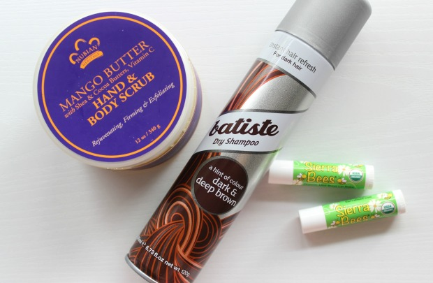 birthday haul mango butter batiste lip balm iherb