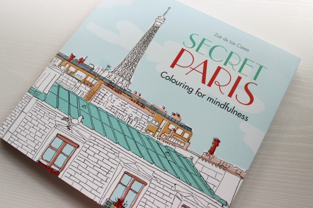 birthday haul secret paris colouring book