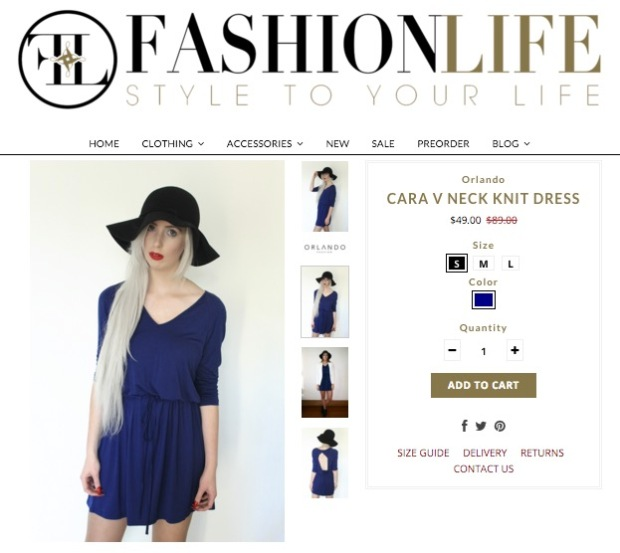 fashionlife nz cara dress