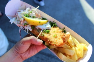 auckland seafood festival food fish and chips