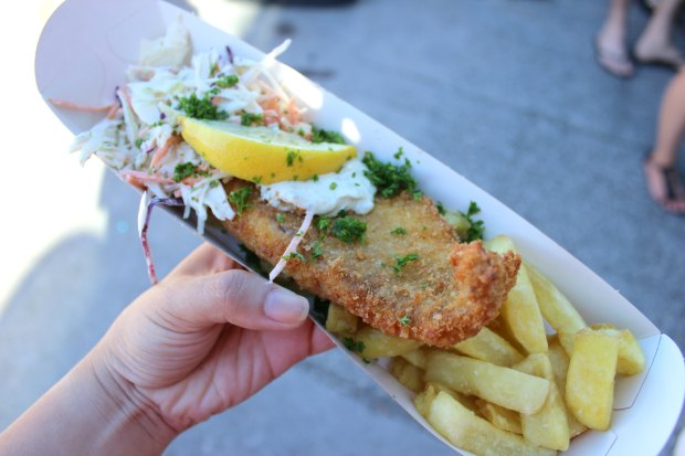 fish and chips auckland seafood festival