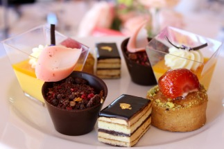 waipuna hotel high tea desserts