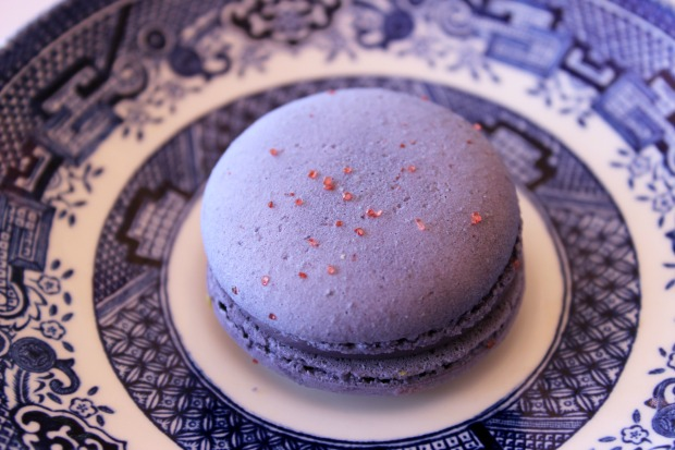 high tea lavender macaron food dessert waipuna hotel auckland