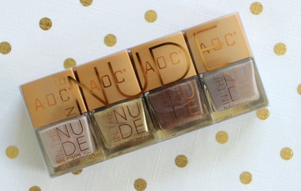 in the nude aoc kmart nail polish set
