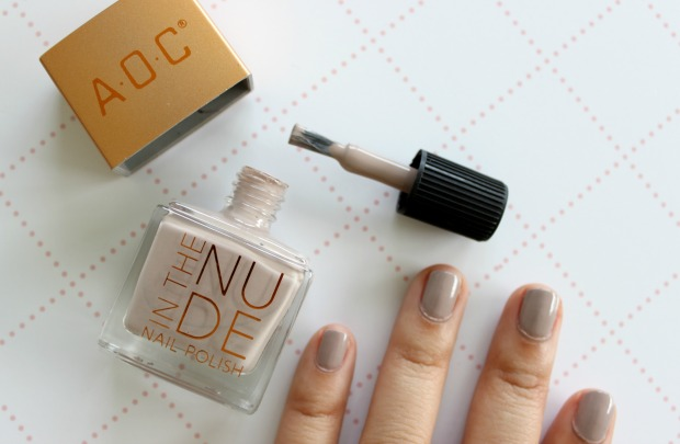 kmart aoc nail polish in the nude woosh