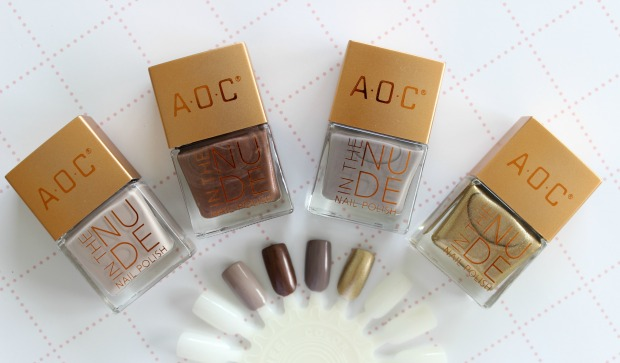 kmart in the nude aoc nail polishes