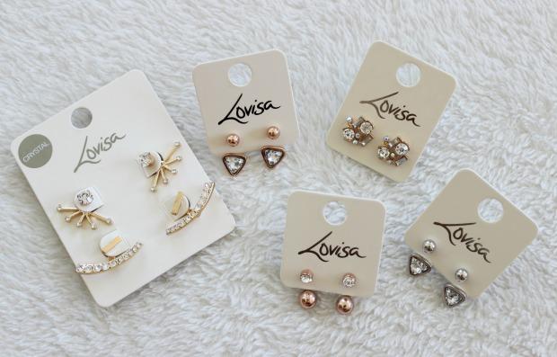 lovisa jewellery earrings haul