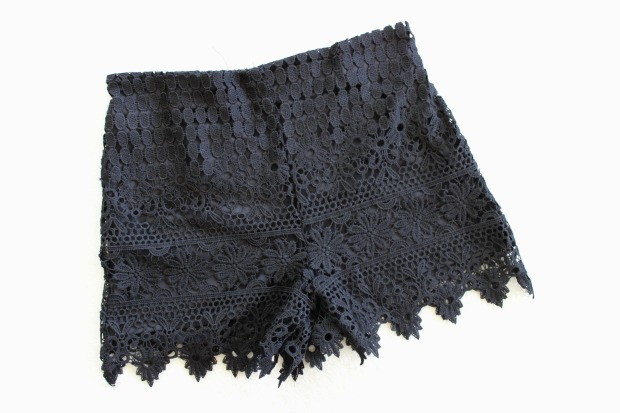 temt lace shorts boxing day haul