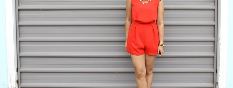 ootd outfit topshop romper playsuit