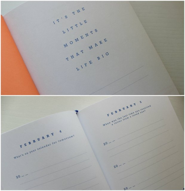 kikki.k one sentence a day journal diary