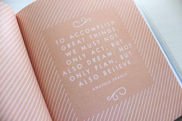 stationery quote motivation kikki.k diary