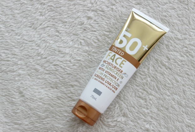 kmart beauty tinted moisturiser sunscreen
