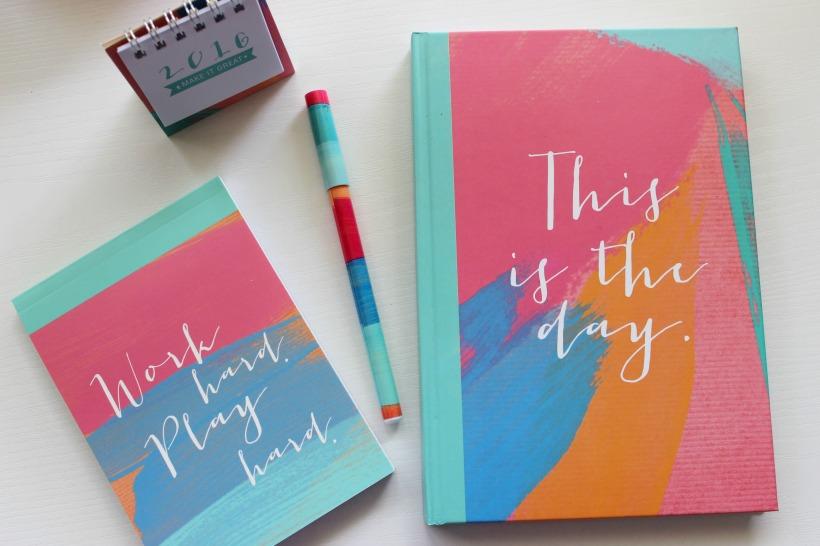 stationery haul kmart notebook pen notepad