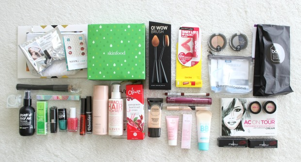 talk beauty nz goodie bags makeup haircare