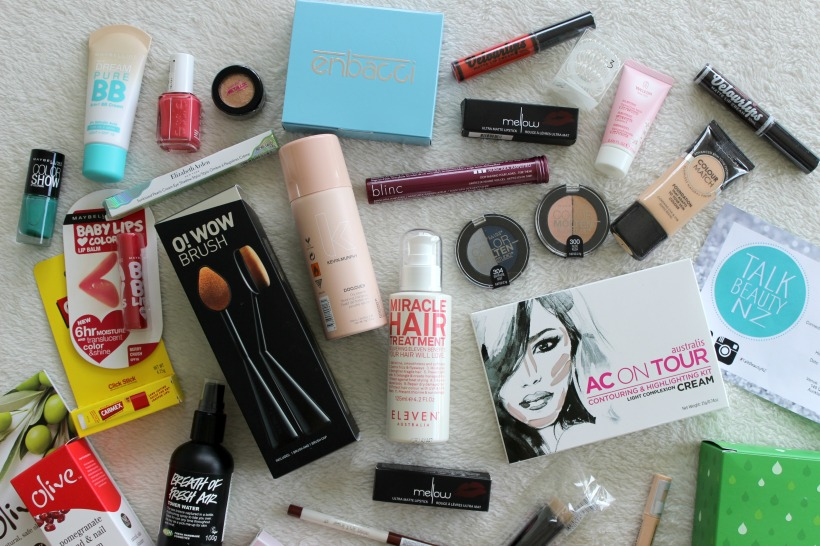 talk beauty nz haul makeup cosmetics
