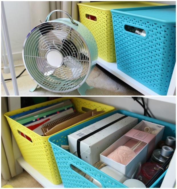 home decor room storage kmart fan