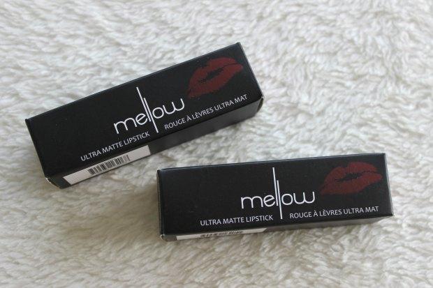 mellow ultra matte lipstick haul talkbeautynz