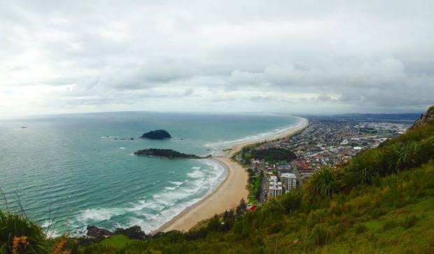 mount maunganui view beach tauranga nz