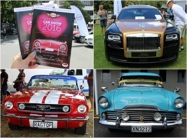 nz classic car show mustang rolls royce zodiac