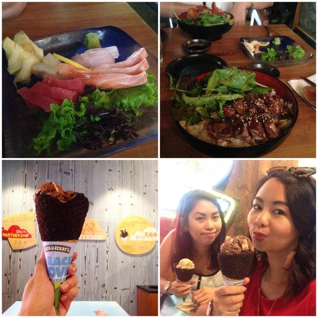 tokyo club ben & jerry's ice cream ponsonby