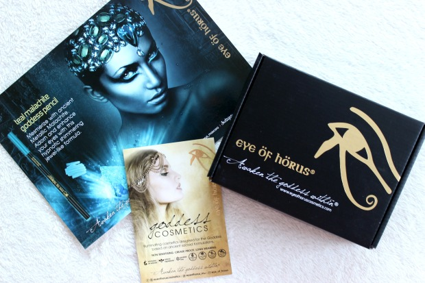 eye of horus cosmetics goddess makeup