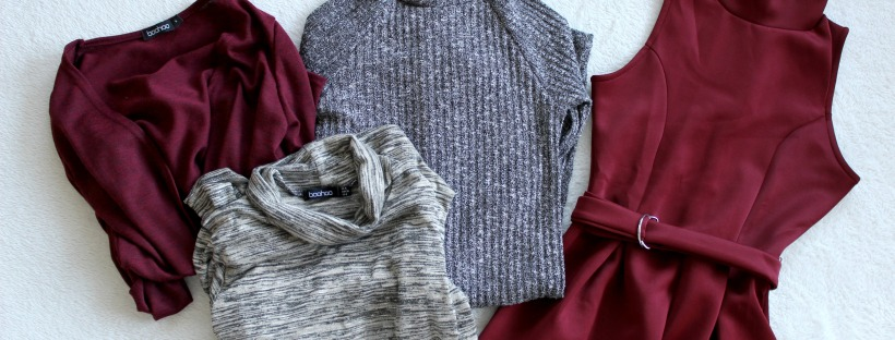 boohoo haul clothing