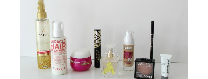 beauty favourites skincare makeup cosmetics haircare
