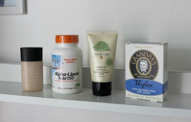 iherb beauty haul makeup medicine