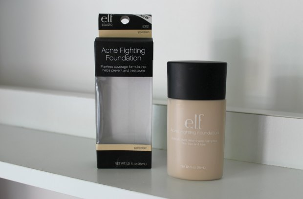 iherb haul e.l.f. acne fighting foundation
