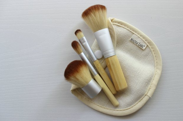 iherb haul madre labs makeup brushes set