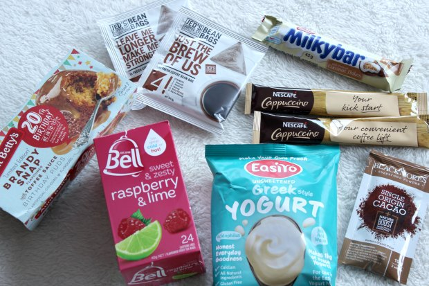 reachme mother's day box food haul