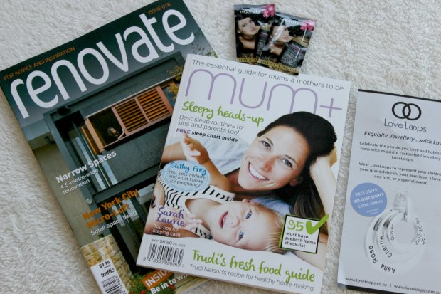 reachme mother's day box haul magazines